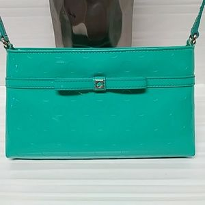 KATE SPADE PATENT LEATHER CROSSBODY 100% AUTH